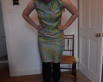 1960s Tricel sheath dress