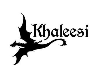 Game of Thrones - Khaleesi - Decal