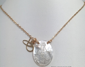 Handmade necklace gold plated