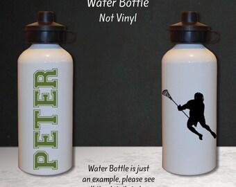 Lacrosse Gift, Lacrosse Water Bottle, Lacrosse Team, Team Gift, Personalized Water Bottle, Sports Water Bottle, Water Bottle