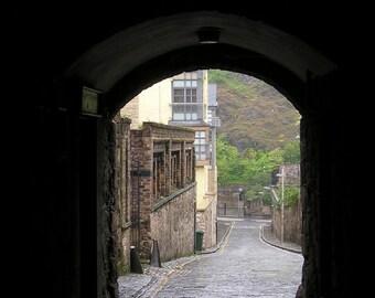 Edinburgh 11x14 Photograph on Canvas