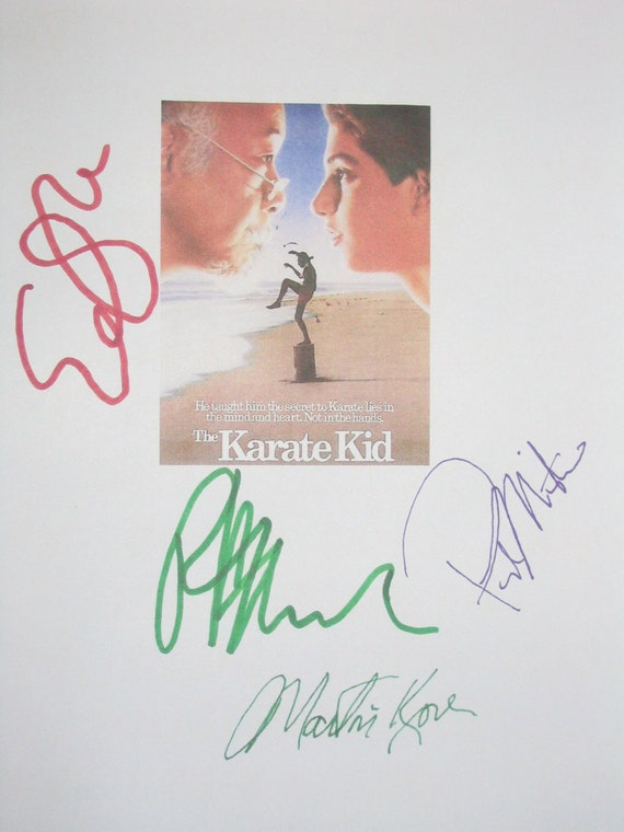 The Karate Kid Script Transcript From The Screenplay