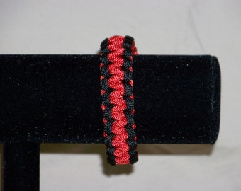 Paracord Bracelet, RED Friday, Support our Troops