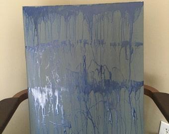 Trickle Effect/Blue Linear