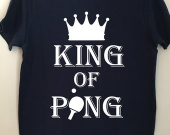King of Ping -(ping pong tee)