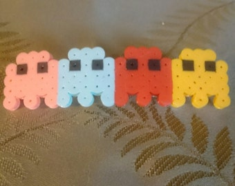 Pac-man ghost barrette