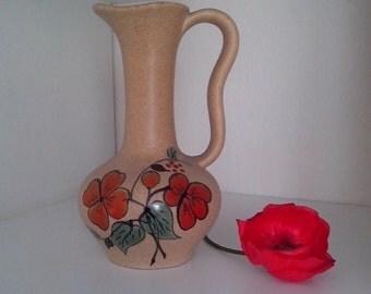 DISCOUNT Vase jug vintage ceramic signed JOSET