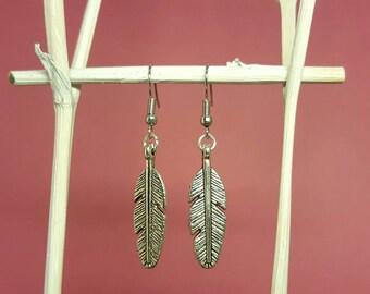 Spring earrings earrings with Silver Springs