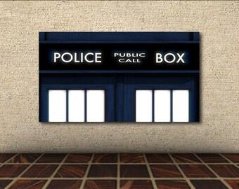 Doctor Who Poster - TARDIS Front Door