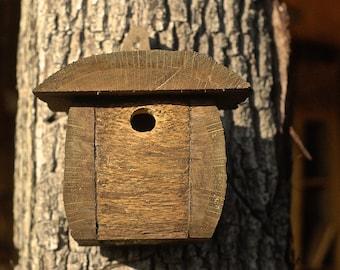Bird Box in oak