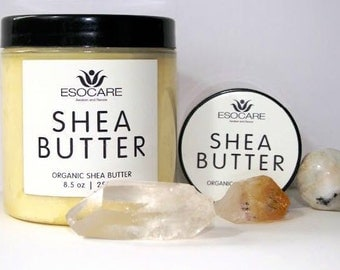 100% Organic pure unrefined whipped shea butter. esocare.co.uk