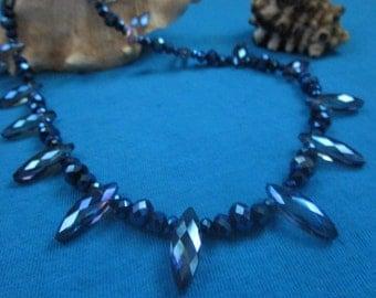 Midnight Metallic Blue with Purple Hues
