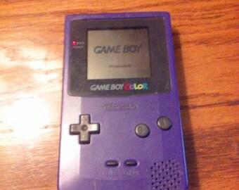 Purple Gameboy Color!