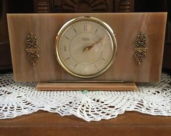 Tempora Bakelite table clock, c. 1930's