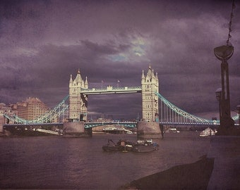 Tower Bridge Fine Art Photograph - London Photography - London Decor - Tower Bridge Photo - London Bridge Photography - London City