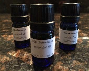 5 mL Wild Chamomile calming 100% pure essential oil sensitive skin aroma anti inflammatory
