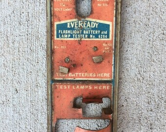 Eveready battery and bulb tester
