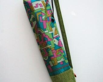 Vintage Sari Yoga Mat Tote Bag 30