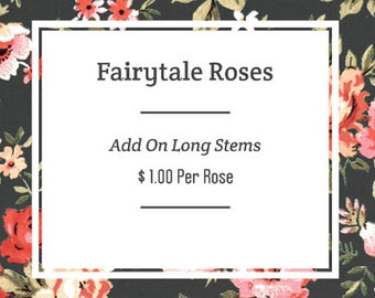 ADD ON: Long Stems For Roses