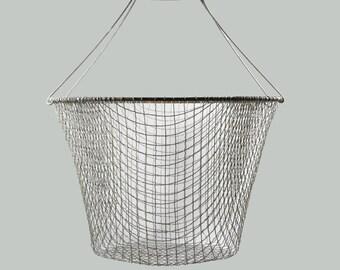 Vintage Round Wire Basket