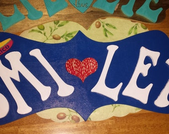 Decor Wall Name Plaques