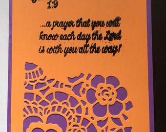 Bible chapter card