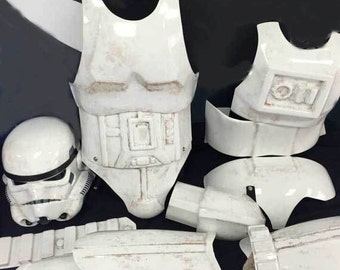 Sandtrooper Armor and helmet kit build and paint