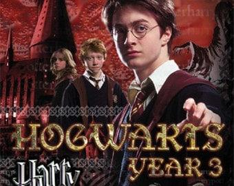 Harry Potter 3 Poster - The Prisoner Of Azkaban - New 24x36