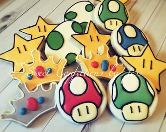 Mario Kart Cookies