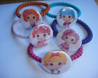 Lalaloopsy Bracelets Set of 5