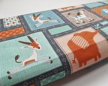 Metre of Children's Jungle Cotton Fabric-perfect quilt backing fabric