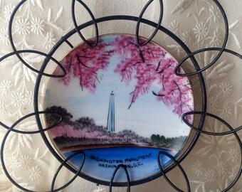 Vintage Washington Monument Plate