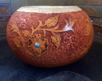 Western gourd bowl