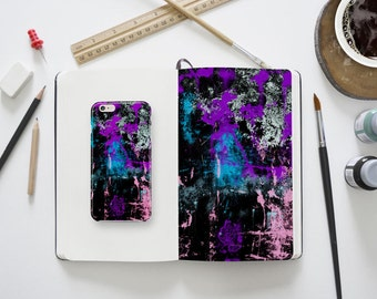 Galaxy S6 Case, iPhone 8 Case paint Samsung S6 S6 Edge Case watercolor Galaxy S8 Case iPhone X Case iPhone 8 Plus 6 Plus colorful