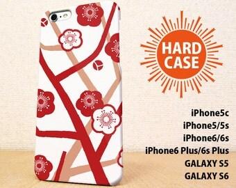 iPhone5 case iPhone5s case iPhone6 case iPhone6s case iPhone6 Plus  case iPhone6s Plus case GALAXY case Flower of the plum image