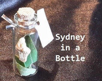 Sydney in a Vial - Glass Vial