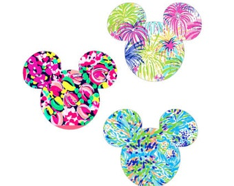 Lilly Inspired  Mouse Ear Decal