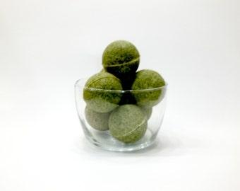 Green Tea Detox Bath Bombs
