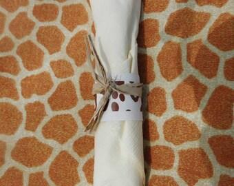 Safari Napkin Rings