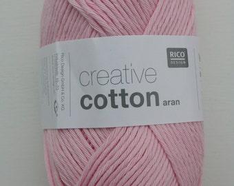 Rico Creative Cotton Aran Rose 00