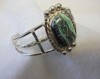 Mystic Sage Turquoise Southwest Style Bracelet