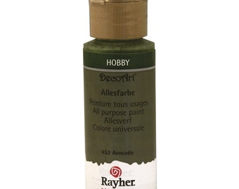Rayher, 59 ml bottle color universal, Avocado