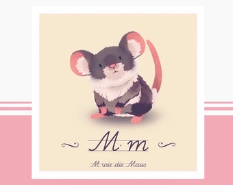 Animal ABC - M is for mouse