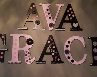Any color decorated letters! Price per letter