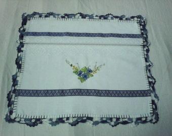 blue kitchen cloth
