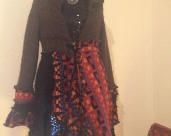 bespoke upcycled pixi coat
