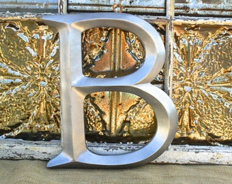 Wall Letters/ Large Letter B / Wall Decor/  Initial Letter/ Wedding/Wall Letters/Photo booth/ Nursery/ Engagement Photo/ Urban Decor