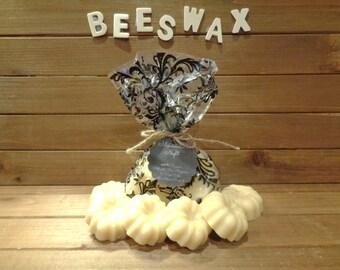 100% beeswax  large melting tarts  (6)