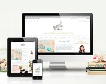 Martha's Craft Works Website Template for WebPlus X8 (c)