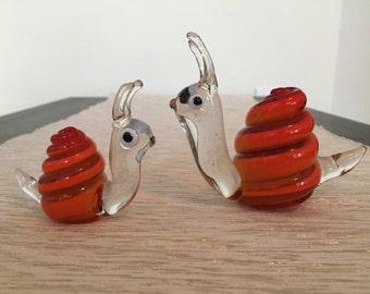 Murano Glass Snail